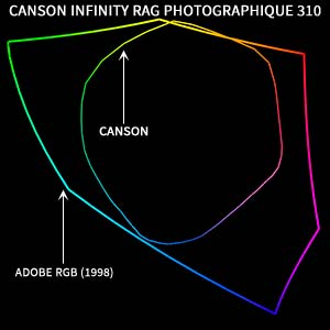 Gamut Canson Infinity Rag Photographique 310