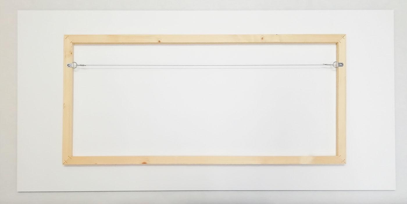 Bastidor de madera para cartón pluma: FINE ART FOTO
