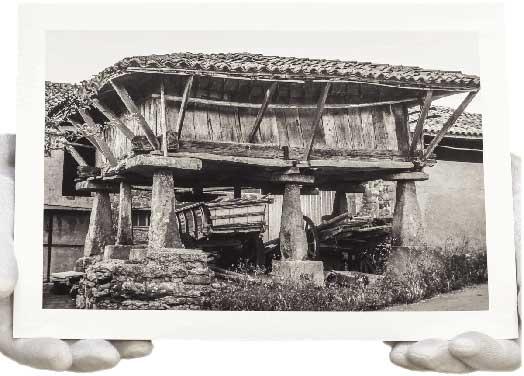 Impresion Blanco y Negro con papel Fine Art y un ligero toque sepia:FINE ART FOTO