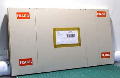 Empaquetado de obras con papel barrera y polietileno:FINE ART FOTO
