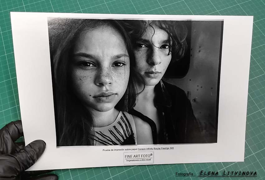 Prueba de impresion fine art giclée: FINE ART FOTO